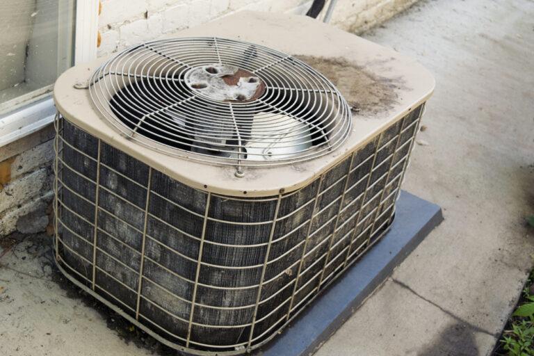 Old AC unit